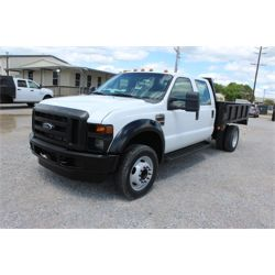 2008 FORD F450 Flatbed Truck