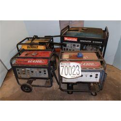 (4) GENERATORS Generator / Electric Power