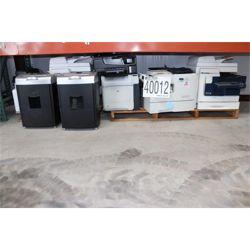 PRINTERS,FAX MACHINE, SHREDDERS Office Equipment / Furniture