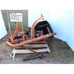 POST DIGGER, TRAILER MOUNTED SPREADER Miscellaneous