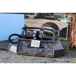 ROTARY CUTTER Skid Steer Attachment