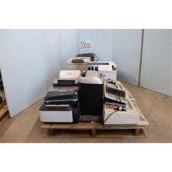 MISC OFFICE EQUIPMENT, PRINTERS, TYPEWRITER, UPSs, SHREDDERS, LAMINATOR, VOICE SWITCH, WIRELESS CONN