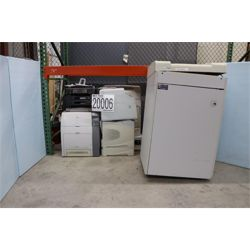 MISC OFFICE EQUIPMENT,PRINTERS,SHREDDERS,FAX MACHINE Office Equipment / Furniture
