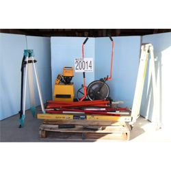 SURVEY EQUIPMENT, PRISM POLE, SMART LEVEL, LEVELING ROD, DISTANCE MEASURES Surveying