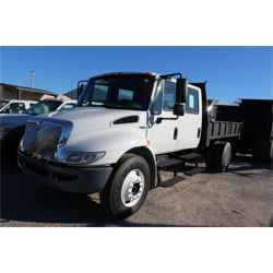 2012 INTERNATIONAL 4300 Flatbed Dump Truck