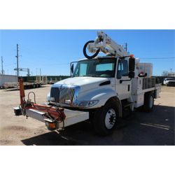 2012 INTERNATIONAL 4300 Boom / Bucket / Crane Truck