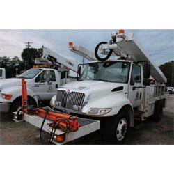2013 INTERNATIONAL 4300 Sign / Boom / Bucket / Crane Truck