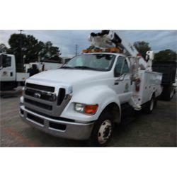2013 FORD F650 Boom / Bucket / Crane Truck
