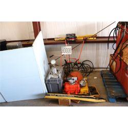 PRISMS, LEVELS, AIR ENTRAINMENT METER,  DISTANCE MEASURING WHEELS Survey Equipment