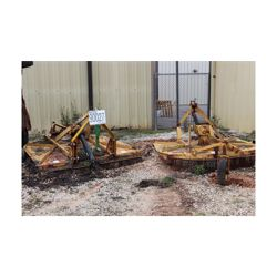 (2) ROTARY CUTTERS Mowing Equipment