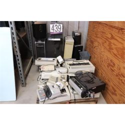TYPEWRITERS, PRINTER VACUUM, 10KEY CALCULATORS, SHREDDERS Office Equipment / Furniture