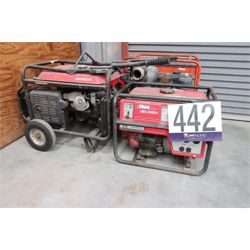 GENERATORS, TRASH PUMP Miscellaneous