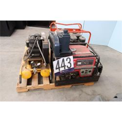 GENERATOR, AIR COMPRESSOR, VACUUM PUMP Miscellaneous