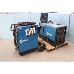(2) MILLER WELDERS Welding Equipment