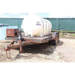 2005 BAZZELL  Water Tank Trailer