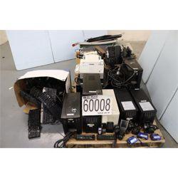 UPSs, CAMERAS, FAX MACHINE, TYPEWRITERS, DISTANCE MEASURER, MULTIPORT MODEM Office Equipment / Furni