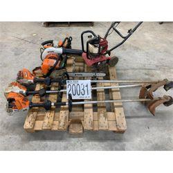CHAIN SAWS, GRASS TRIMMERS, TILLER, BLOWER Landscape Equipment