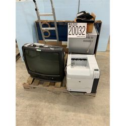 TELEVISION, MICROWAVES, HANDTRUCK Office Equipment / Furniture