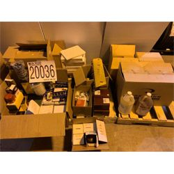 HAND SOAP, FLOOR STRIPPER, FLOOD LIGHT BULBS, THERMOMETERS Miscellaneous