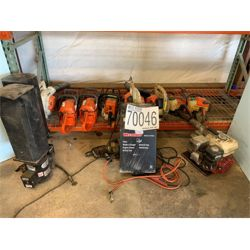 CHAIN SAWS, BLOWERS, TRIMMERS, BATTERY CHARGER Landscape Equipment
