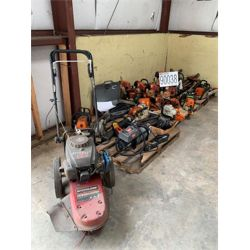 CHAIN SAWS, GRASS TRIMMERS, DISTANCE MEASURING DEVICES, WINCH, VOLT METER Miscellaneous
