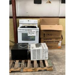 MICROWAVES,  OVEN, WINDOW A/C Miscellaneous