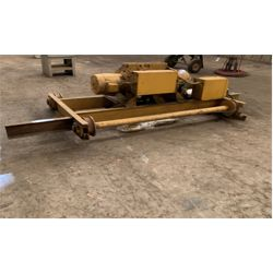 YALE 5 TON OVERHEAD CRANE Shop Equipment