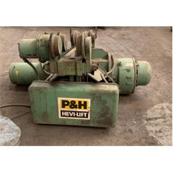 P&H 7.5 TON ELECTRIC HOIST Shop Equipment