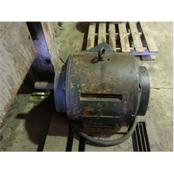 DUTY MASTER 25 HP 3 PHASE ELECTRIC MOTOR Shop Equipment