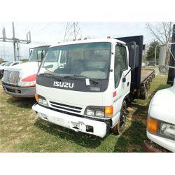 2002 ISUZU NQR Flatbed Truck
