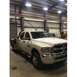 2018 RAM 3500 Flatbed Truck
