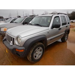 2004 JEEP LIBERTY Car / SUV