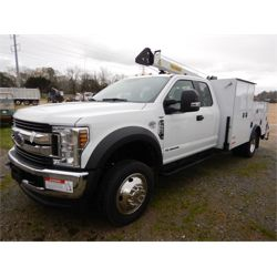 2019 FORD F550 Service / Mechanic / Utility Truck