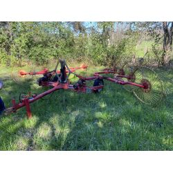 CONCUTTI RCS8 HAY RAKE Hay / Forage Equipment
