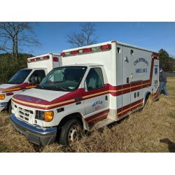 2006 FORD E450 Emergency Vehicle