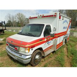 2001 FORD E350 Emergency Vehicle
