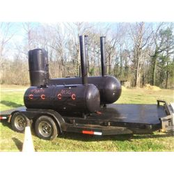 BBQ Smoker Specialty Trailer