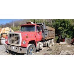 1975 FORD  Dump Truck