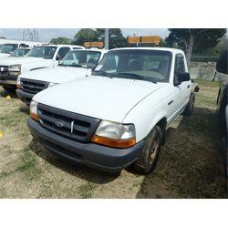 1999 Ford Ranger Flatbed Truck