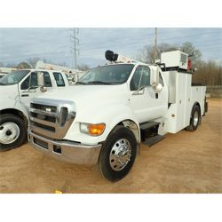 2007 FORD F750 XLT Service / Mechanic / Utility Truck