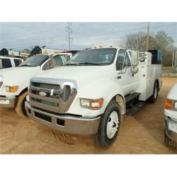2007 FORD F750 Service / Mechanic / Utility Truck