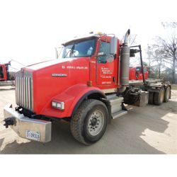 2007 KENWORTH T800 Roll Off Truck