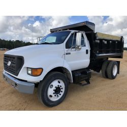 2002 FORD F650 Dump Truck