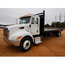 2012 PETERBILT PB337 Flatbed Dump Truck