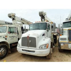 2009 KENWORTH T370 Boom / Bucket / Crane Truck