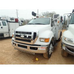 2009 FORD F750 XLT Service / Mechanic / Utility Truck