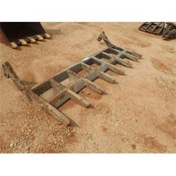 8' Root Rake Rake Attachment