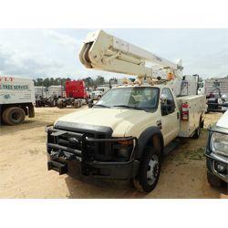 2009 FORD F550 Boom / Bucket / Crane Truck