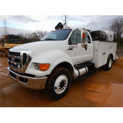 2015 FORD F750 Service / Mechanic / Utility Truck
