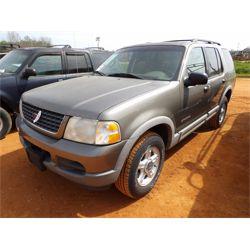 2002 FORD EXPLORER Car / SUV